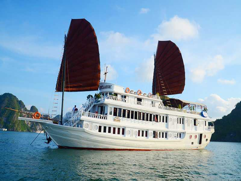 Garden Bay Legend Cruise - Bai Tu Long Bay - 3 Days 2 Nights on Boat