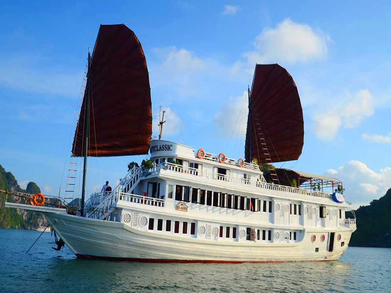 Garden Bay Legend Cruise - Bai Tu Long Bay - 2 Days 1 Night on Boat
