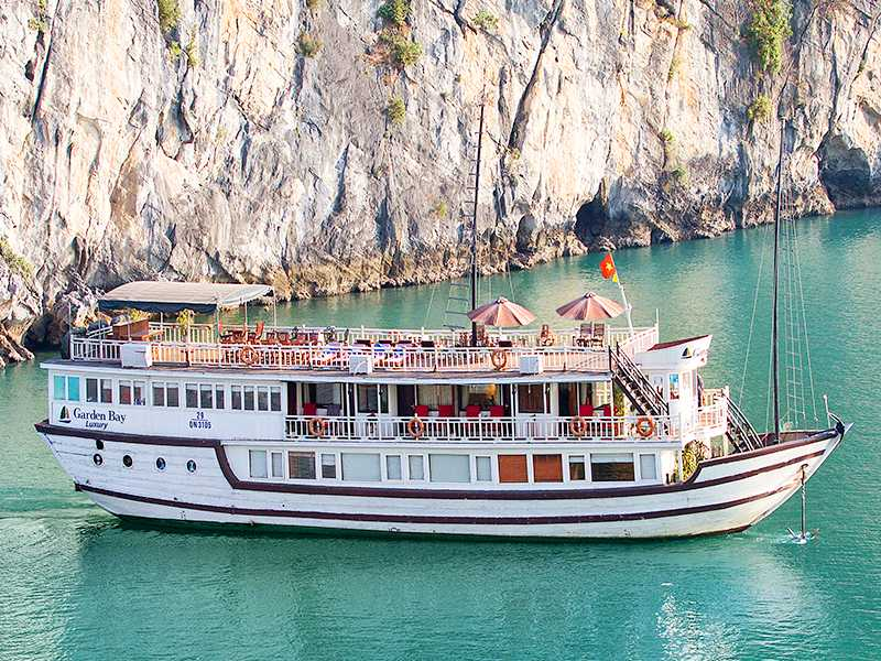 Garden Bay Luxury Cruise - Bai Tu Long Bay - 2 Days 1 Night on Boat