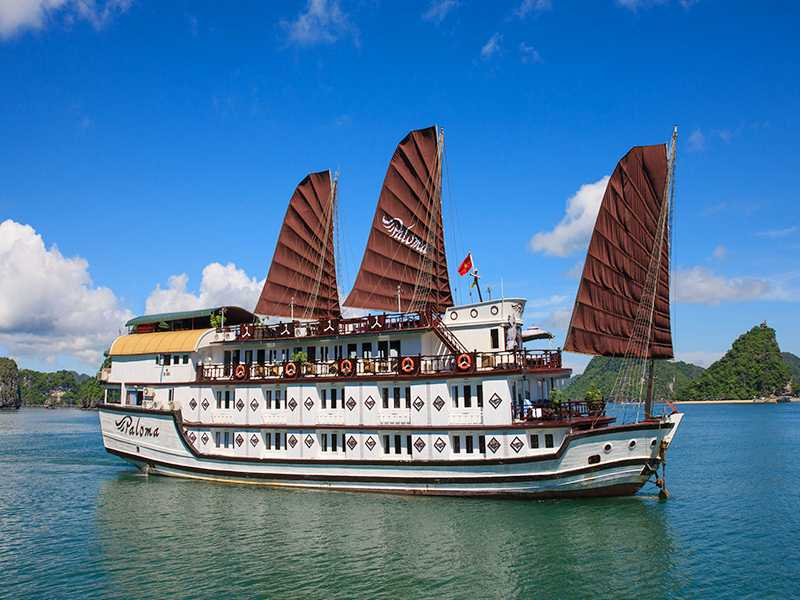 Paloma Cruise - Bai Tu Long Bay - 3 Days 2 Nights on Boat