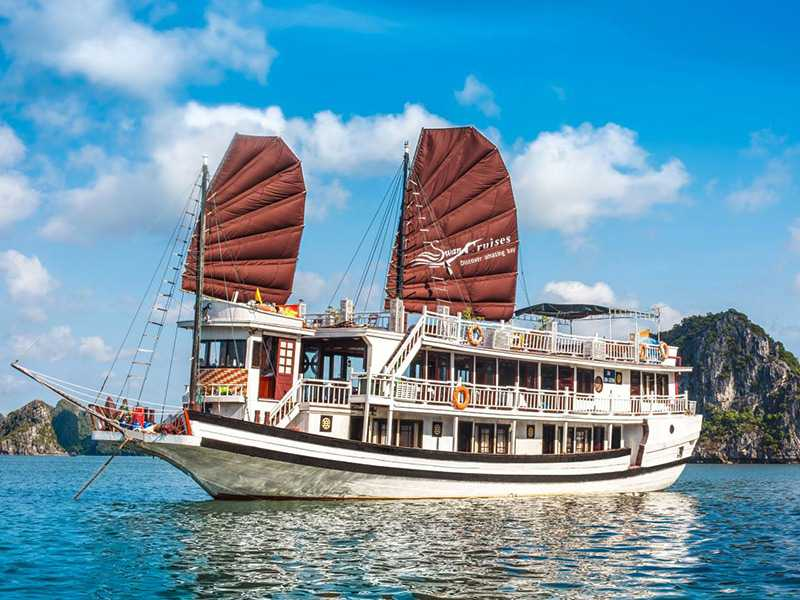 Swan Cruise - Bai Tu Long Bay - 2 Days 1 Night on Boat